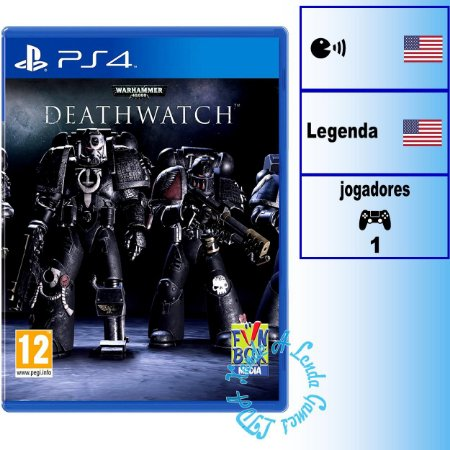 Warhammer 40000 Deathwatch - PS4 - Novo