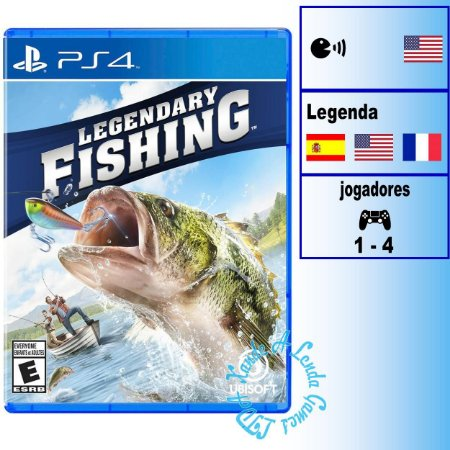 Legendary Fishing - PS4 - Novo
