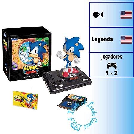 Sonic Mania Collector's edition - PS4 - Novo