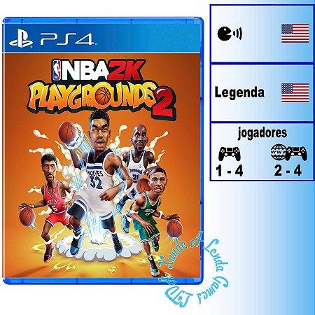 NBA 2K Playgrounds 2 - PS4 - Novo