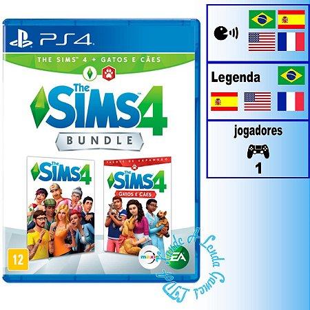 The Sims 4 + Cães e Gatos - PS4 - Novo