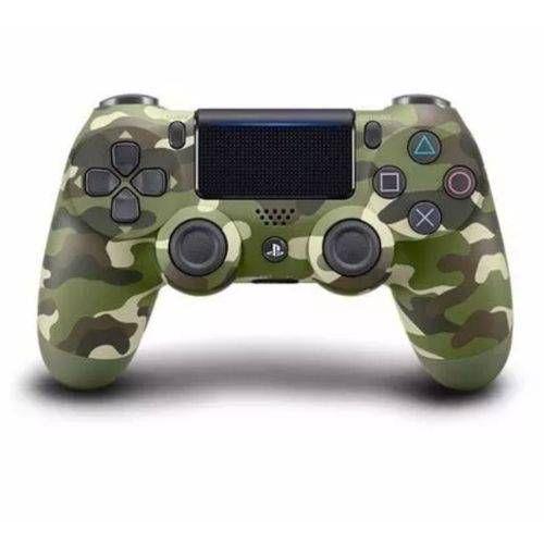Controle Dualshock 4 - PS4 - Novo - Verde Camuflada