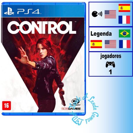 Control - PS4 - Novo