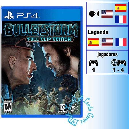 Bulletstorm Full Clip Edition - PS4 - Novo