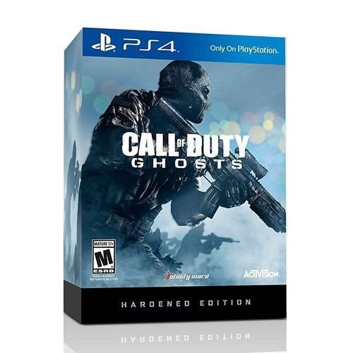 Call of Duty Ghosts Hardened Edition - PS4 - Novo