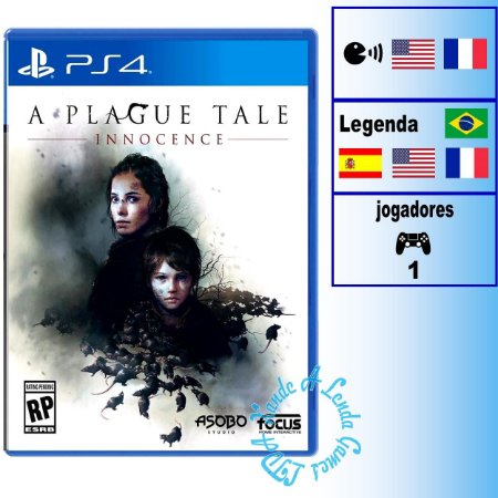 A Plague Tale: Innocence - PS4 - Novo