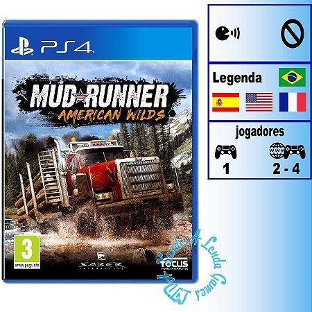 Spintires Mudrunner American Wilds  - PS4 - Novo