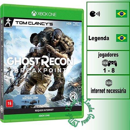 Tom Clancy's Ghost Recon Breakpoint Edição de Lançamento - XBOX ONE - Novo