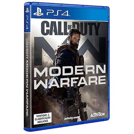 Call of Duty Modern Warfare - PS4 - Novo
