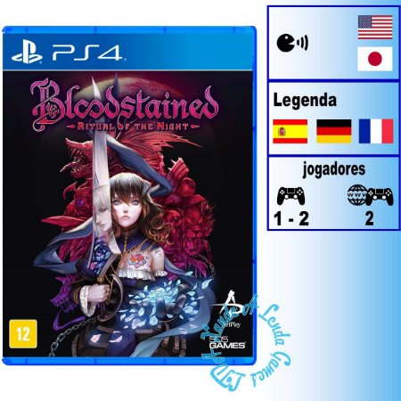 Bloodstained Ritual of the Night - PS4 - Novo