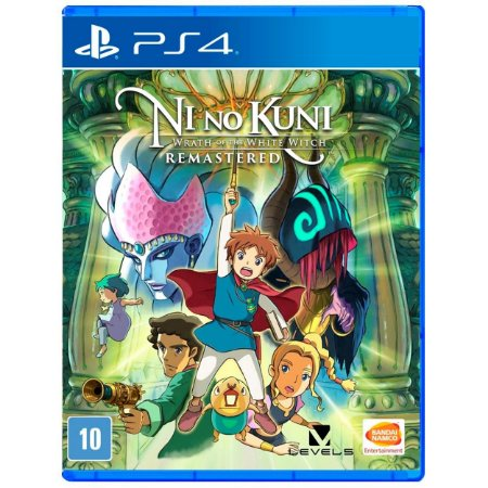 Ni No Kuni Wrath of the White Witch Remastered - PS4 - Novo