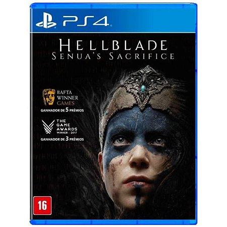 Hellblade Senua's Sacrifice - PS4 - Novo