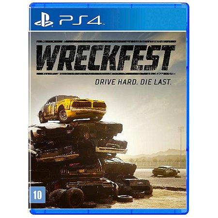 Wreckfest - PS4 - Novo