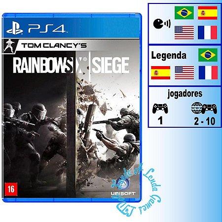 Tom Clancy's Rainbow Six Siege - PS4 - Novo