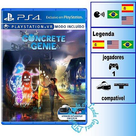 Concrete Genie - PS4 - Novo