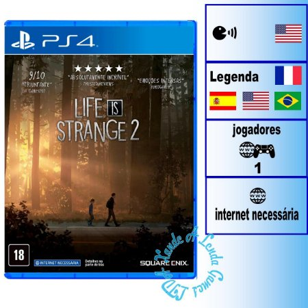 Life is Strange 2 - PS4 - Novo