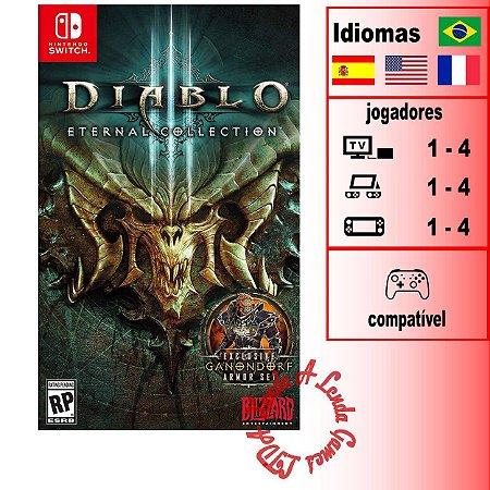 Diablo 3 Eternal Collection - SWITCH - Novo