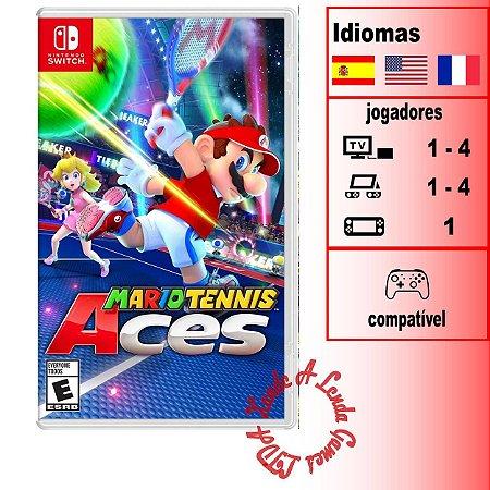 Mario Tennis Aces - SWITCH - Novo [EUA]