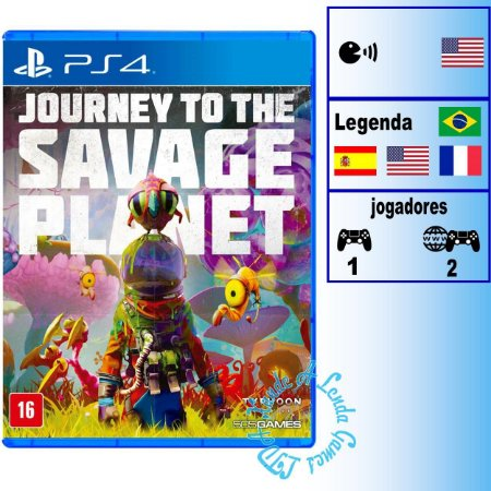 Journey to the Savage Planet - PS4 - Novo