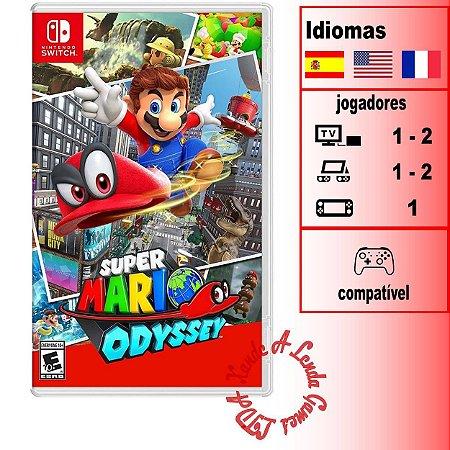 Super Mario Odyssey - SWITCH - Novo [EUA]