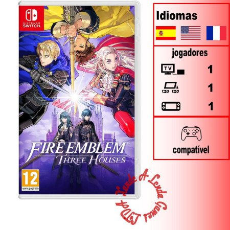 Fire Emblem Three Houses - SWITCH - Novo