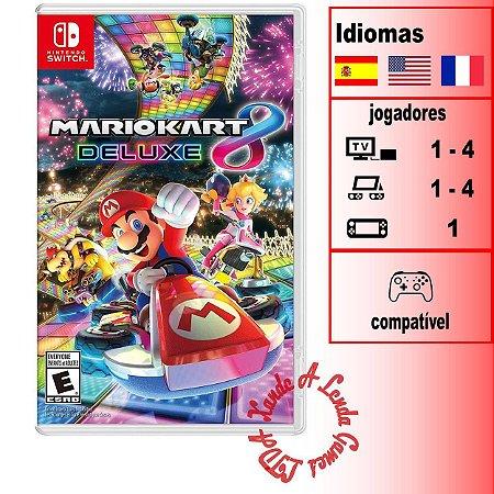 Mario Kart 8 Deluxe - SWITCH - Novo