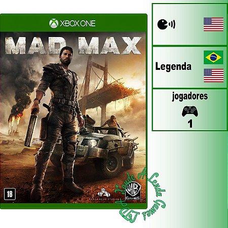 Mad Max - XBOX ONE - Novo