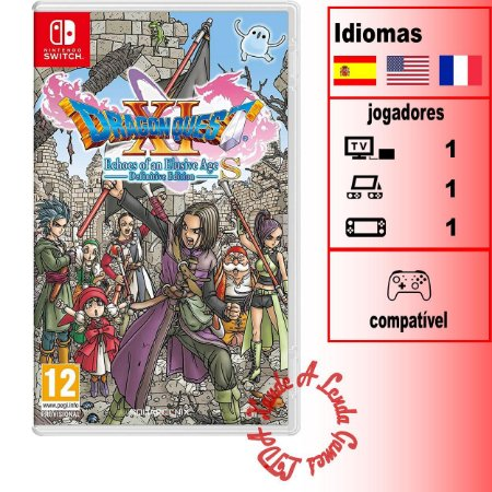 Dragon Quest XI S Echoes of an Elusive Age Definitive Edition - SWITCH - Novo