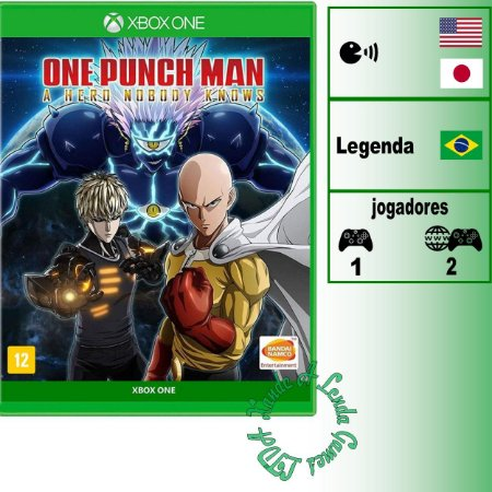 One Punch Man a Hero Nobody Knows - XBOX ONE - Novo