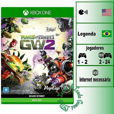 Plants vs Zombies Garden Warfare 2 - XBOX ONE - Novo