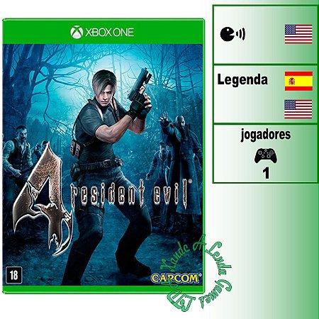 Resident Evil 4 - XBOX ONE - Novo