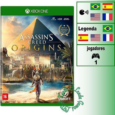 Assassin's Creed Origins - XBOX ONE - Novo