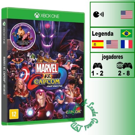 Marvel Vs. Capcom: Infinite Edição Limitada - XBOX ONE - Novo