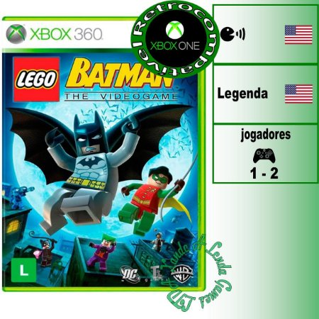 Lego Batman - XBOX 360 - XBOX ONE - Novo