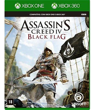 Assassin's Creed IV Black Flag - XBOX ONE - Novo