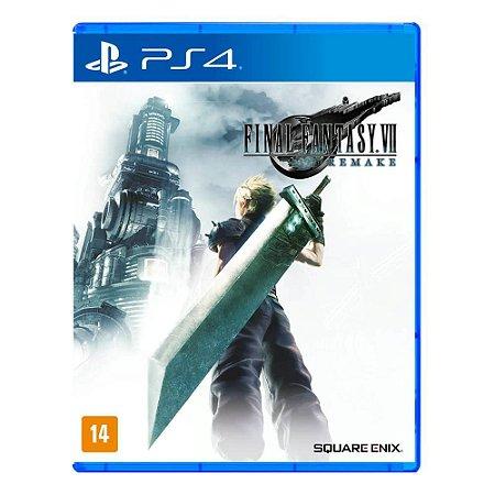 Final Fantasy VII - PS4 - Novo