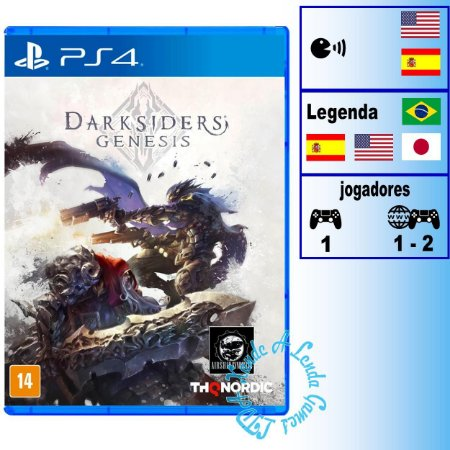 Darksiders Genesis - PS4 - Novo