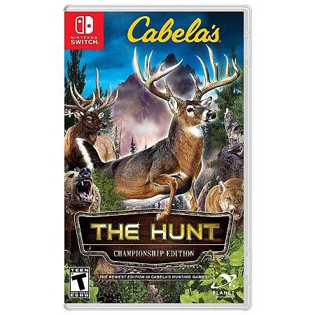 Cabela's The Hunt Championship Edition - SWITCH - Novo