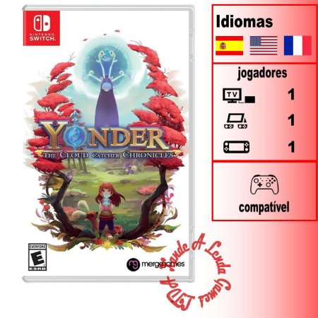 Yonder The Cloud Catcher Chronicles - SWITCH - Novo