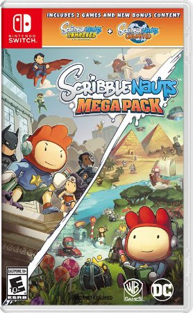 Scribblenauts Megapack - SWITCH - Novo