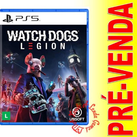 Watch Dogs Legion - PS5 - Novo