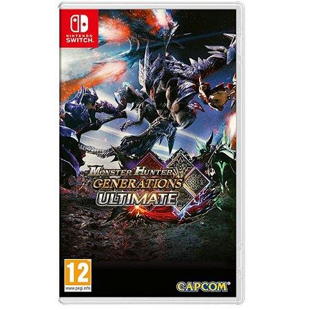 Monster Hunter Generations Ultimate - SWITCH - Novo