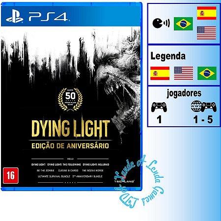 Dying Light Edição de Aniversário - PS4 - Novo