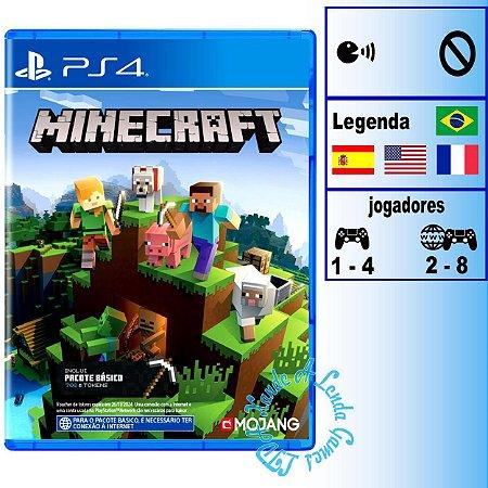 Minecraft Starter Edition - PS4 - Novo