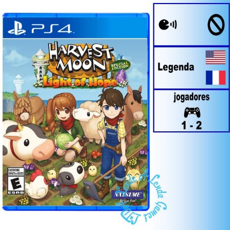 Harvest Moon Light of Hope Special Edition - PS4 - Novo