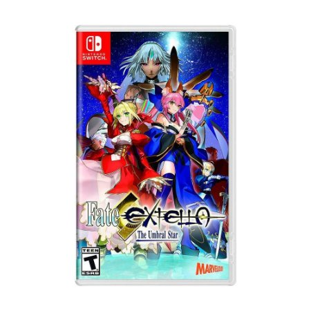 Fate/Extella: The Umbral Star - SWITCH - Novo