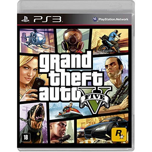 Grand Theft Auto 5 (GTA V) - PS3 - Novo