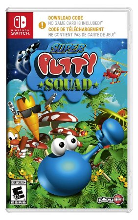 Super Putty Squad - SWITCH - Novo (código para download+caixa)