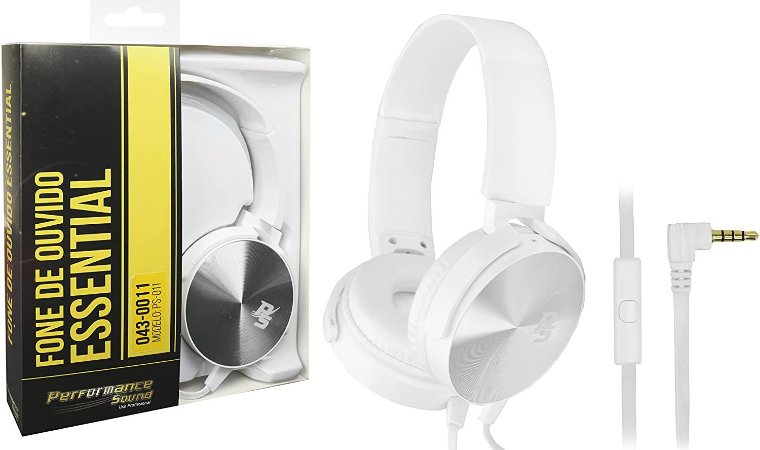 Headset Essential Flat - Performance Sound - Novo