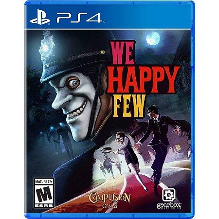 We Happy Few - PS4 - Novo